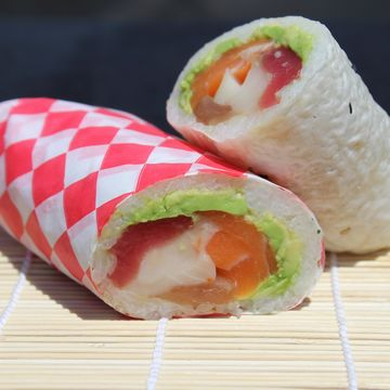 Sashimi Burrito