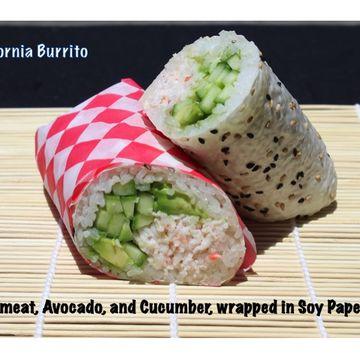 CAP (California Burrito)