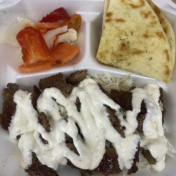 Beef and Lamb Gyro Platter