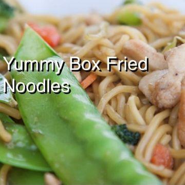Vegetarian Stirfry Noodles