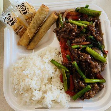 Mongolian Beef Combo