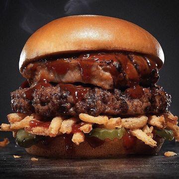 Boneless Rib Burger w/ 1 Side