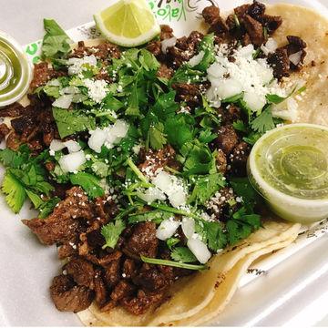 3 OMG Asada Tacos