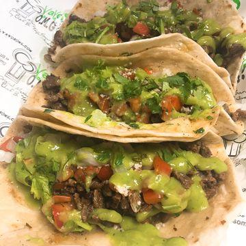 2 Sonora Style Steak Tacos