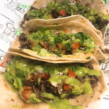 3 Sonora Style Steak Tacos