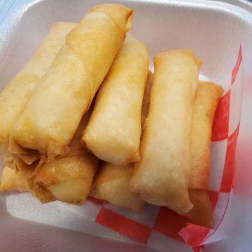 8 Crab and Cream Cheese Rangoon Sticks