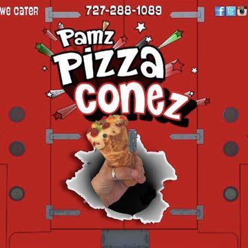 Supreme Pizza Cone w/Fries