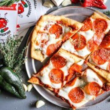 Sicilian Pepperoni Pizza