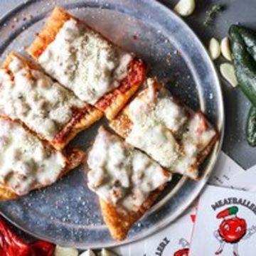 Sicilian Meatball Pizza