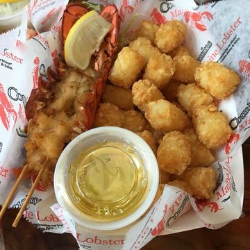 Lobster Tail & Tots