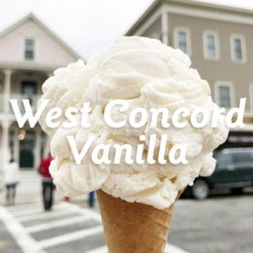 West Concord Vanilla Ice Cream