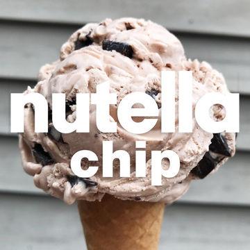 Nutella Chip Ice Cream