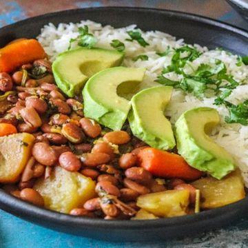 Vegetarian Colombian Bowl