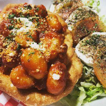 Gnocchi Homemade + Caprese Salad