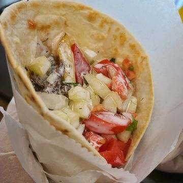 Nash Beef Kebab Small Wrap