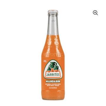 Mandarin Flavored Jarritos Sodas