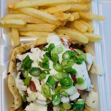 Nash Chicken Kebab Plate