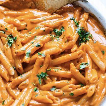 Pasta pink sauce