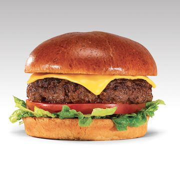Cheesy Burger w/ Fries