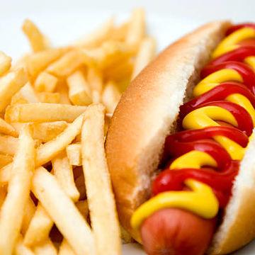 Kid Hotdog w/ Fries