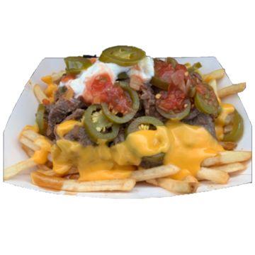 Nacho Fries w/ Meat