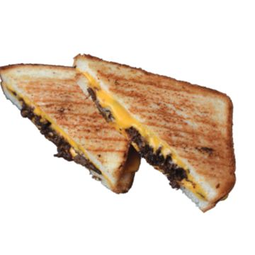 Bulgogi Grilled Cheese with Fries