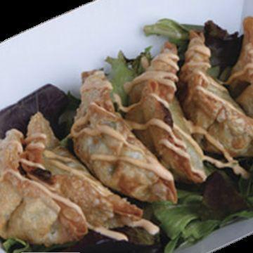 Deep Fried Vegetable Dumplings
