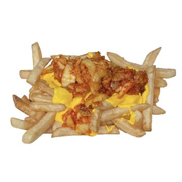 Kimchi Fries w/ Cheese
