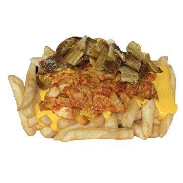 Pork Belly & Kimchi Fries