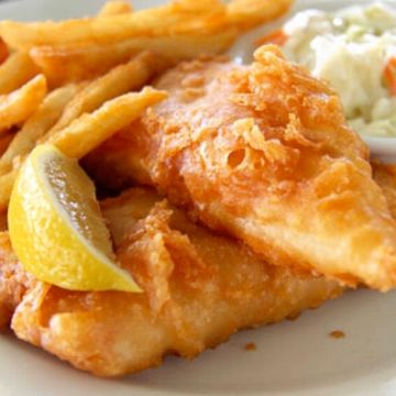 Beer Battered Cod w/ Fries