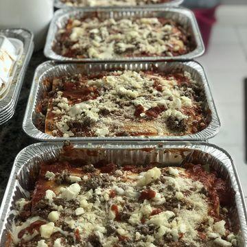 Lasagna Homemade Bolognese