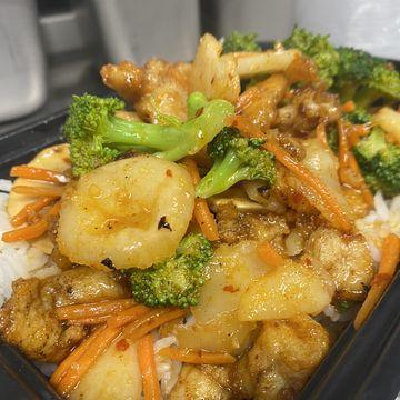 Gluten-Free Thai Chicken Stir-Fry w/ Basil