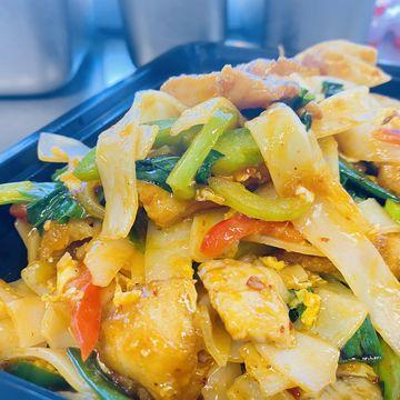 Gluten-Free Spicy Drunken Noodle