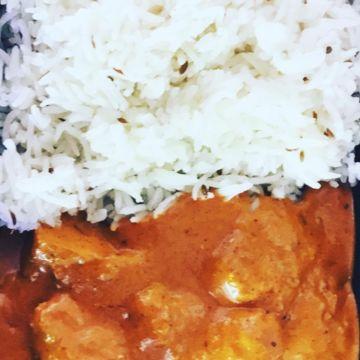Paneer Tikka Masala w/ Rice