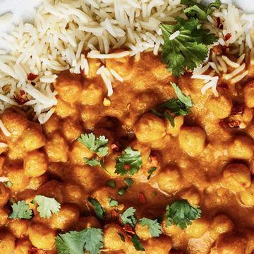 Chana Masala w/ Rice