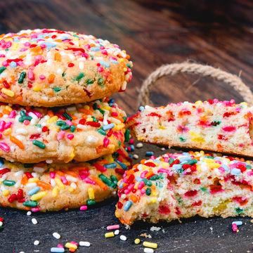 Sprinkle Cookie - Stack of 4