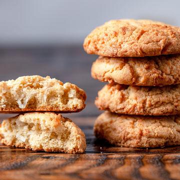 Vanilla Coconut Cookie - Stack of 4