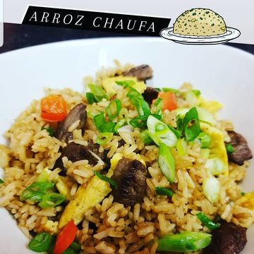 Chicken fried rice (chaufa)