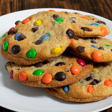 M&M Chocolate Chip Cookie - Stack of 4