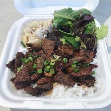 Teri Beef Plate