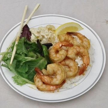 Garlic Shrimp Plate