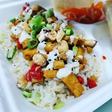 El Guapo Tofu Rice (Vegan)
