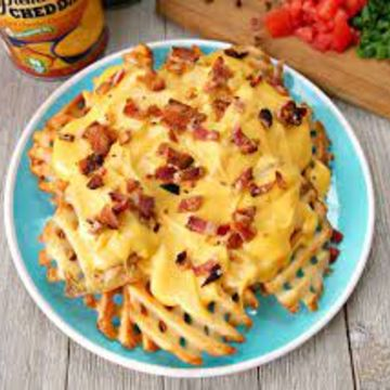 Bacon & Cheese Waffle Fries