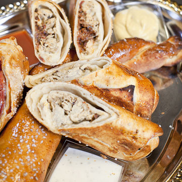 Ham & Cheese Pretzel Roll