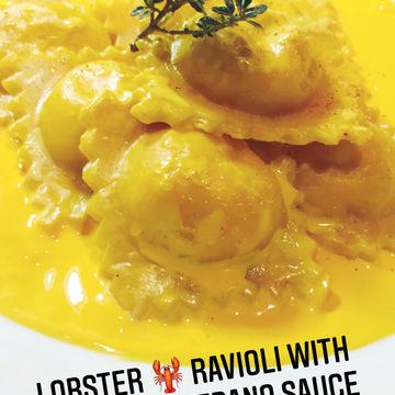 Lobster 🦞 Ravioli