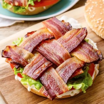 Braided Bacon BLT image