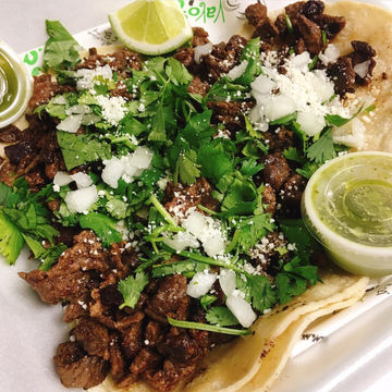 2 OMG Asada Tacos