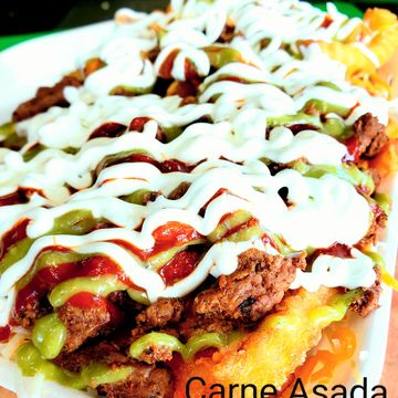 "Carne Asada ""Nacho Fries"""